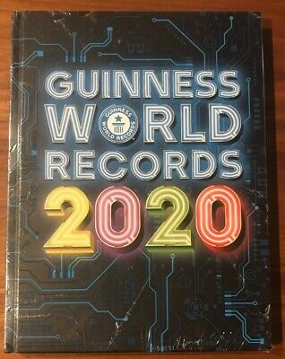 Guinness World Records 2020 by Guinness World HARDCOVER 2019 NEW SEALED