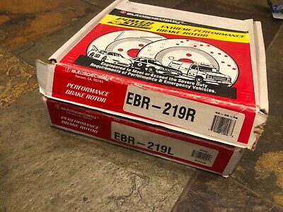 POWER PERFORMANCE DRILLED SLOTTED PLATED BRAKE DISC ROTORS P3295 FRONT