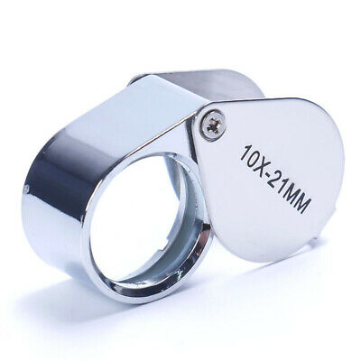 Jewelry Diamond Eyes Loupe Magnifier Magnifying Glass Triplet Jewelers Boxes
