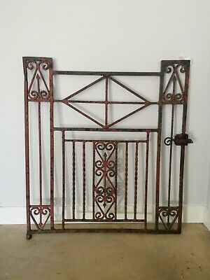 Historical wrought iron gate