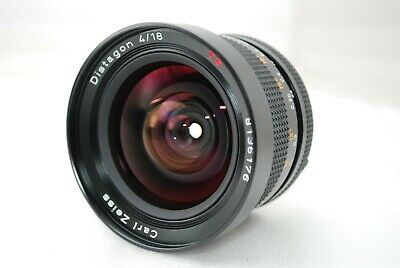"""CONTAX Carl Zeiss Distagon 18mm F/4 MMJ """"Excellent++"""" #3497"""