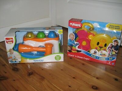 Playskool / Bruin Baby Toys - AS NEW - IN BOXES !!!
