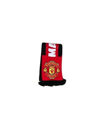 Brand New Manchester United Football Scarf 100% acrylic official Item made in UK