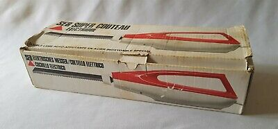 Vintage C1970'S Seb Brand Electric Carving Knife - Like New In Box