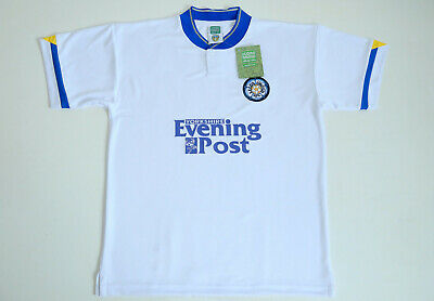 Leeds United 1991 - 1992 Home Score Draw Shirt size Adult Large L New with tags