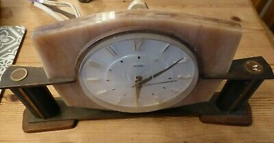 Vintage Retro Metamec electric mantle clock.