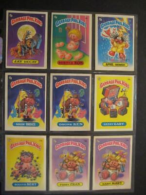 GARBAGE PAIL KIDS 1980s 1ST Series Matte ONE CARD updated 2/23/20 NEW LOT