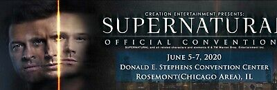 Supernatural Convention Tickets (Chicago) - Gold Weekend Package (Sold Out)