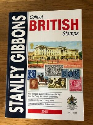 Collect British Stamps 2015 - Stanley Gibbons catalogue - used, VGC