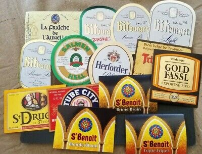 World wide nice lot of all different Beer labels IX