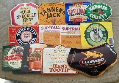 World wide nice lot of all different Beer labels XIII