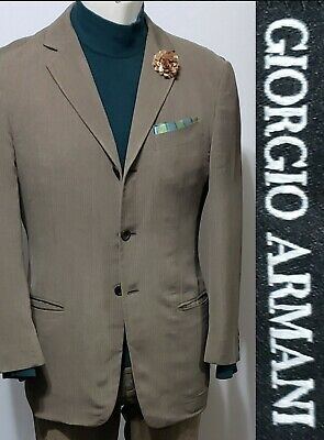 Giorgio Armani Black Label 40S Cotton Silk Rayon  Blazer Borgo 21 Sport Coat