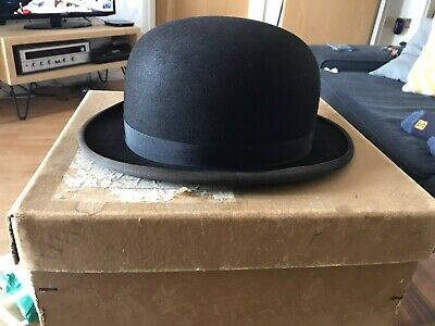 Woodrow Piccadilly London For Henry Gordy ltd Black Hat with original box