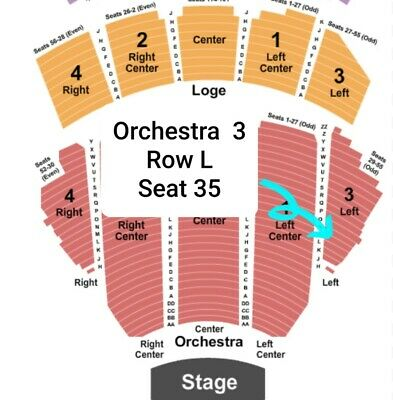 1 Orchestra Ticket for Love Rocks NYC - Mar 12, 2020 - Beacon Theatre