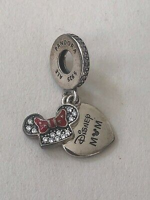 Authentic Pandora Disney Exclusive Parks Minnie Mouse Mom Charm 7501057371562P