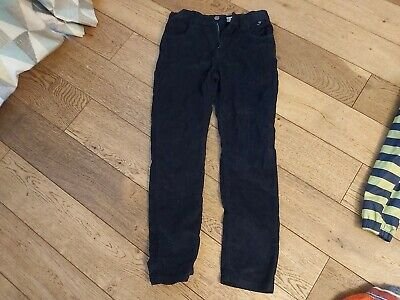 Boys Denim Co Slim Cord Trousers navy 9-10 Years