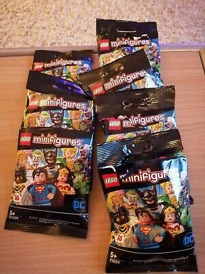 Lego DC Comics Minifig Series 71026 joblot of seven.