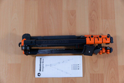 Manfrotto BeFree Color Aluminum Travel Tripod (Orange) - MKBFRA40R-BH