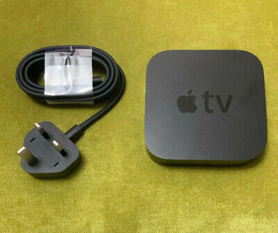 Apple TV A1378   2nd Generation   Free P&P   New Mains Lead   No Remote