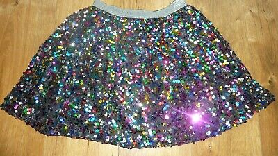 Girls George sequin skirt age 8-9 EX CON