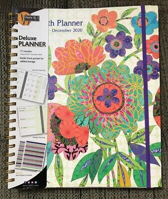 Wells Street by LANG, 2020 Calendars Ladybird Deluxe Planner with Elastic Band