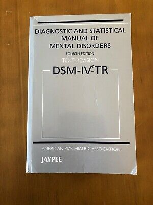 Diagnostic and Statistical Manual of Mental Disorders by American Psychiatric...