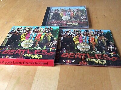 Beatles Sgt. Peppers Lonely Hearts Club Band Cd+ Booklet.