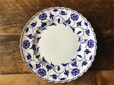 Lovely Set of Six Side Plates by Spode, Blue Colonel Design