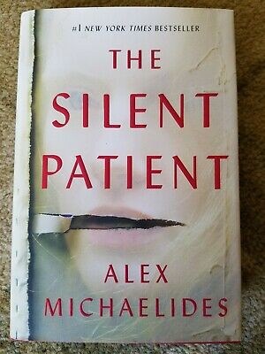 The Silent Patient by Alex Michaelides - Hardcover Book Very Good Condition