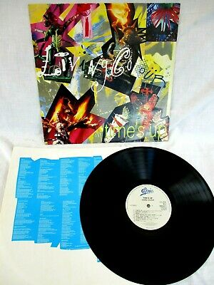 Living Colour, Times Up, 1990, Original Lyric Inner Sleeve, Very Good+ Condition