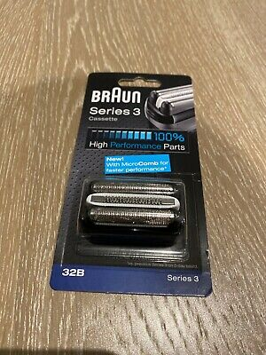 Braun Series 3 Electric Shaver Replacement Foil Cartridge 32B -New Sealed