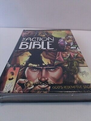 Brand New Sealed!!The Action Bible - Sergio Cariello
