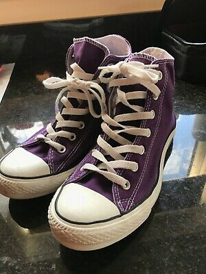 converse all stars high top, hardly worn great condition uk 6