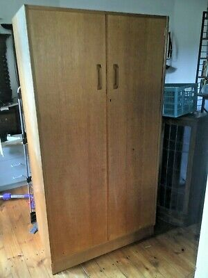 G Plan Brandon Teak / Iroko Single Wardrobe