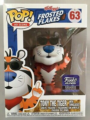 Funko Pop Tony The Tiger Hollywood Exclusive. Cereal Ad Icons Limited Edition