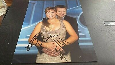Jayne Torvill+Christopher Dean---Dancing On Ice---Rare--10X8---Autographed Photo