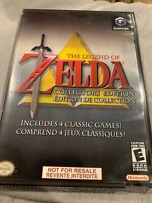 The Legend Zelda Collectors Edition  For Nintendo Game Cube. Game Case Manual