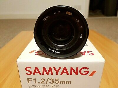 Samyang 35mm F1.2 ED AS UMC CS for Fuji X Mount