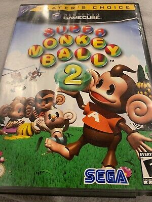 Super Monkey Ball 2 For Nintendo Game Cube. Game Case Manual
