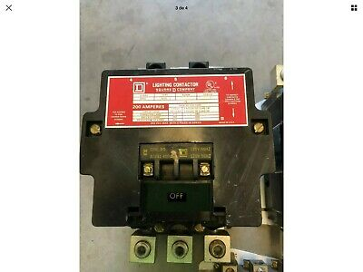 square d lighting contactor 200 Amp