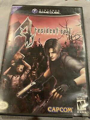 Resident Evil 4 For Nintendo Game Cube. Game, Case, Manual