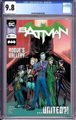 Batman #89 Cover A 1st Print CGC 9.8 Fast Pass Punchline First Cameo App.