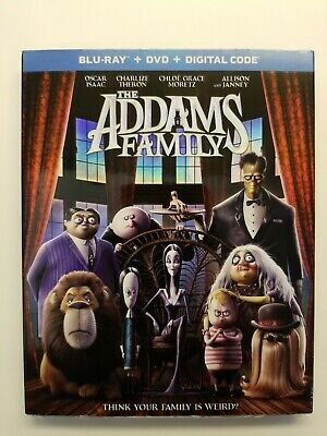The ADDAMS FAMILY, 2019 (Blu-Ray + DVD + Digital) w/Slipcover NEW SEALED!