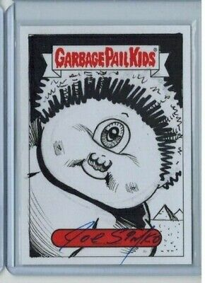 2019 GPK Garbage Pail Kids Simko Sketch Valentine's Day is Gross Sy Clops 1/1