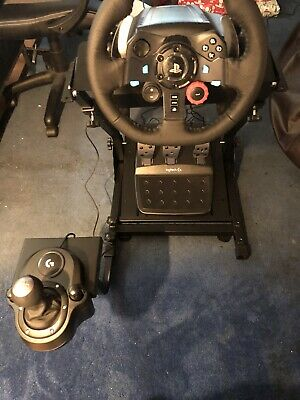 Wheel Frame Stand Logitech G920 T500RS Thrustmaster Mount V2 PC Xbox PS4 Gaming