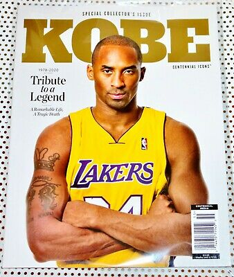 Kobe Bryant 2020 Tribute Centennial Icons Magazine Special Collectors edition 💗