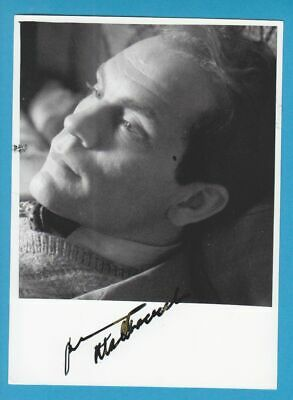 JOHN MALKOVICH in person signed glossy PHOTO 13 x 18 cm AUTOGRAPH