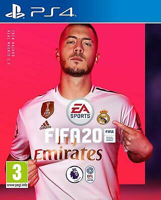 FIFA 20 PS4 Platform PlayStation 4 Standard Edition Authentic Game Flow Ages 3+
