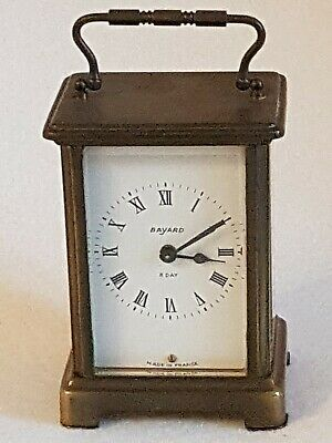 Duverdrey & Bloquel Bayard Carriage Clock Working - Made In France