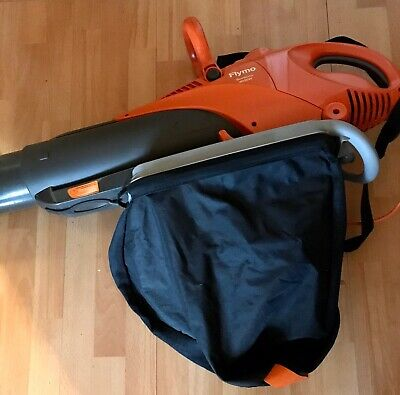 Flymo Scirocco 3000W- Leaf Blower, Vacuum & Shredder - Used Twice!!